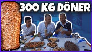 Yok Artık!!! İnsan Boyunda 300 kg Döner | Adana Sokak Lezzetleri