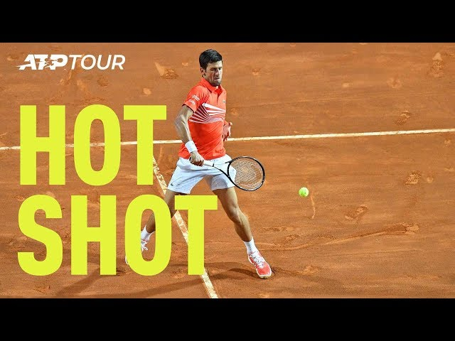 Djokovic Hot Shot: 'He's Stolen It!' | Rome 2019