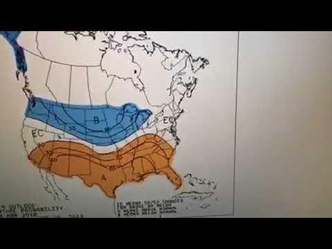 Weather forecast 3/14/18