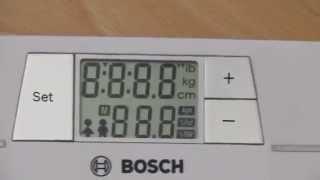 весы Bosch PPW 4200 ремонт