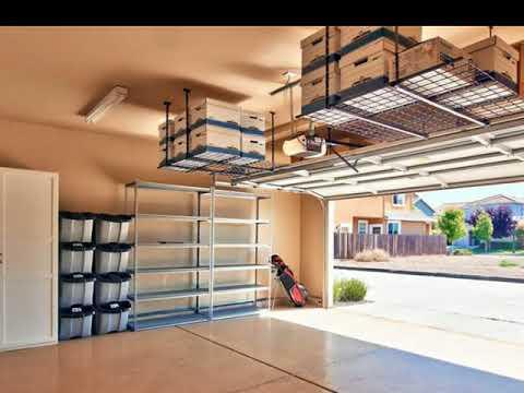 Garage Storage Ideas Roof Garage Ceiling Storage Ideas Youtube