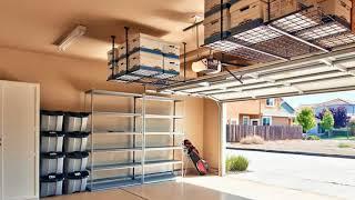 Garage Storage Ideas Roof - Garage ceiling storage ideas