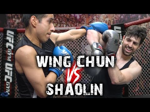 Wing Chun Vs Shaolin Kung Fu Sparring (Highlights & Analysis)