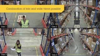 AXIS P3707-PE vidéo