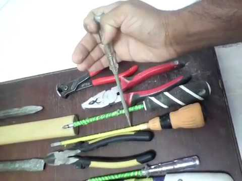 Electretion tools name and use part 1 UAE electrical