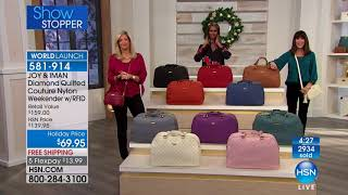 HSN | JOY & IMAN: Fashionably Functional Holiday Event 12.16.2017 - 12 PM