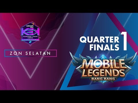 MLBB CELCOM #XPAXKEK SEM 2 Quarter Final 1- Blank [UTM Skudai] vs Thats What She Said [UNIKL]