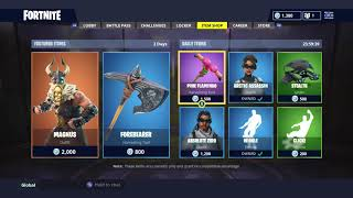 BRAND NEW SKINS! ITEM SHOP RESET (15/7/18) FORTNITE BATAILLE ROYALE