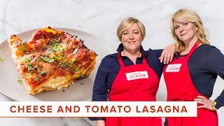 Our Favorite Cheese and Tomato Lasagna