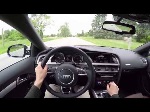 2015 Audi A5 2.0T Coupe (6MT) – WR TV POV Test Drive