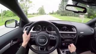 2015 Audi A5 2.0T Coupe (6MT) - WR TV POV Test Drive