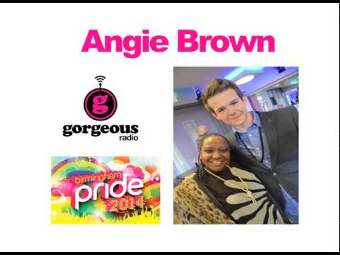 Angie Brown interviewed by Ben Mason at Birmingham Pride 2014