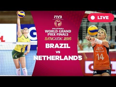 Brazil v Netherlands - Semi Finals: 2016 FIVB Volleyball World Grand Prix