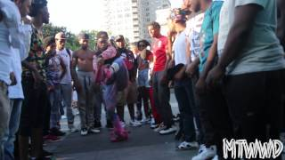 J Black ,Spaceman ,and Kid Patt | End Of Summer Cypher 2014 | #MTWWD