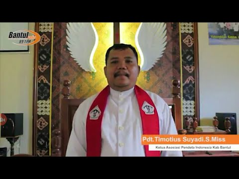 Ucapan Natal 2017 dan Tahun Baru 2018,Oleh Ketua API Kab Bantul Pdt. Timotius Suyadi, S.Miss