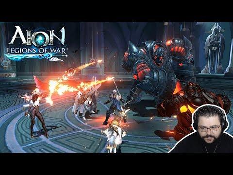 Aion Legions Of War - Início De Gameplay Em Português (Android/IOS) NCSoft Mobile Game (PT-BR)