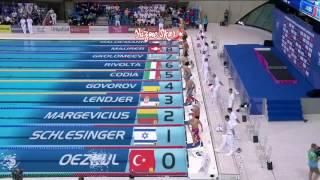 2016 Avrupa yüzme Şampiyonası Londra Berk Özkul 50mt kelebek