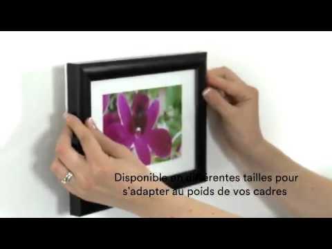 Accrocher un tableau n 39 a jamais ete aussi simple youtube - Accrocher un tableau sans clou ni vis ...