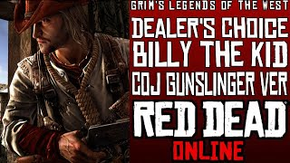 How to Make Billy the Kid's Outfit from COJ Gunslinger in RDO!