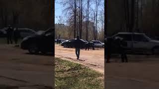 Житель Челнов оказал сопротивление при задержании