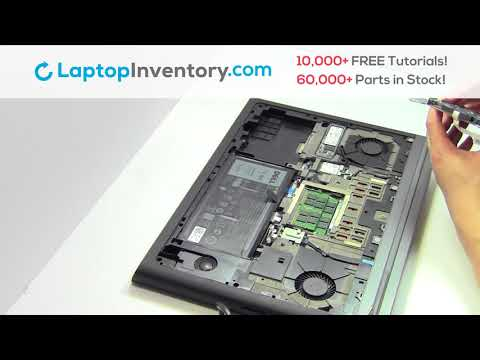 Dell Inspiron 7567 Hard Drive Installation Replacement Guide Replace Install Laptop 7566 7778 P65F
