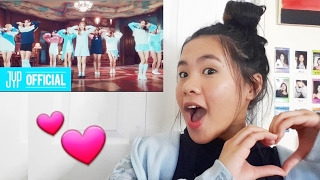 FIRST TIME REACTING TO TWICE (TT Music video)