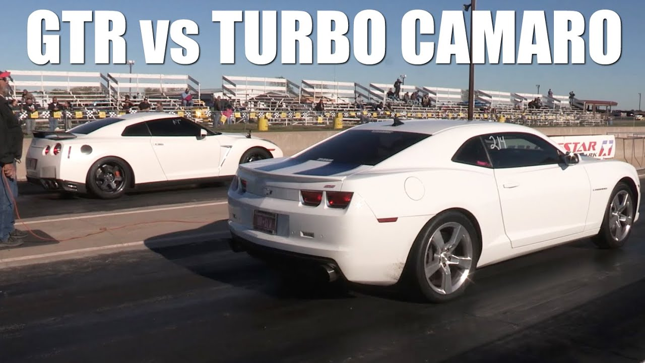 Turbo Camaro Vs Gtr