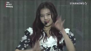 ★트와이스(TWICE) 미공개 수상소감 및 'DANCE THE NIGHT' 'YES or YES' 무대 2018AAA (Asia Artist Awards)★