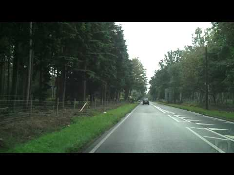 Driving in the UK - Ascot to Bagshot