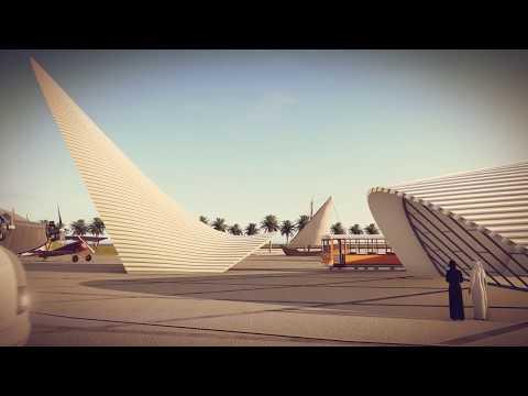Transport Education Centre in Doha by ah asociados