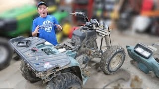 THE WORST FOUR-WHEELER EVER!!!