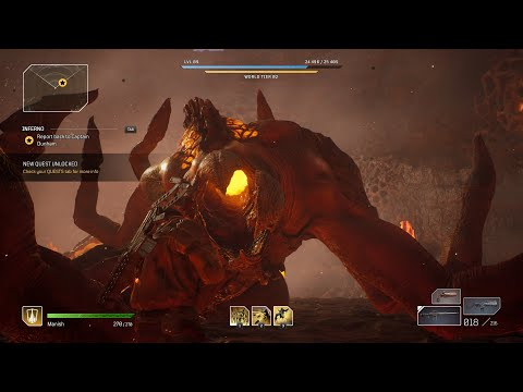 Outriders Acari boss fight, Devastator play! |
