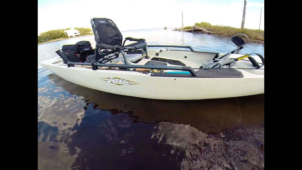 Image gallery hobie pro angler kayak for Used fishing kayak