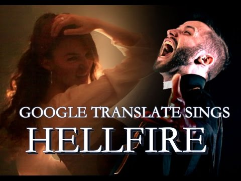 "Google Translate Sings: ""Hellfire"" from The Hunchback of Notre-Dame (ft. Jonathan Young)"