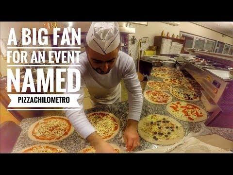 A big fan for an event named Pizzachilometro RISTORANTE PIZZERIA L'INFINITO