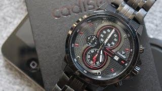 КРУТЫЕ механические часы CADISEN из КИТАЯ. ВОДОНЕПРОНИЦАЕМЫЕ НАРУЧНЫЕ ЧАСЫ