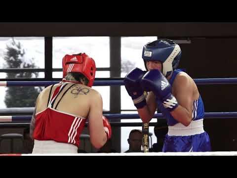 Leila Beaudoin vs Brenda Delisle finale 64 KG