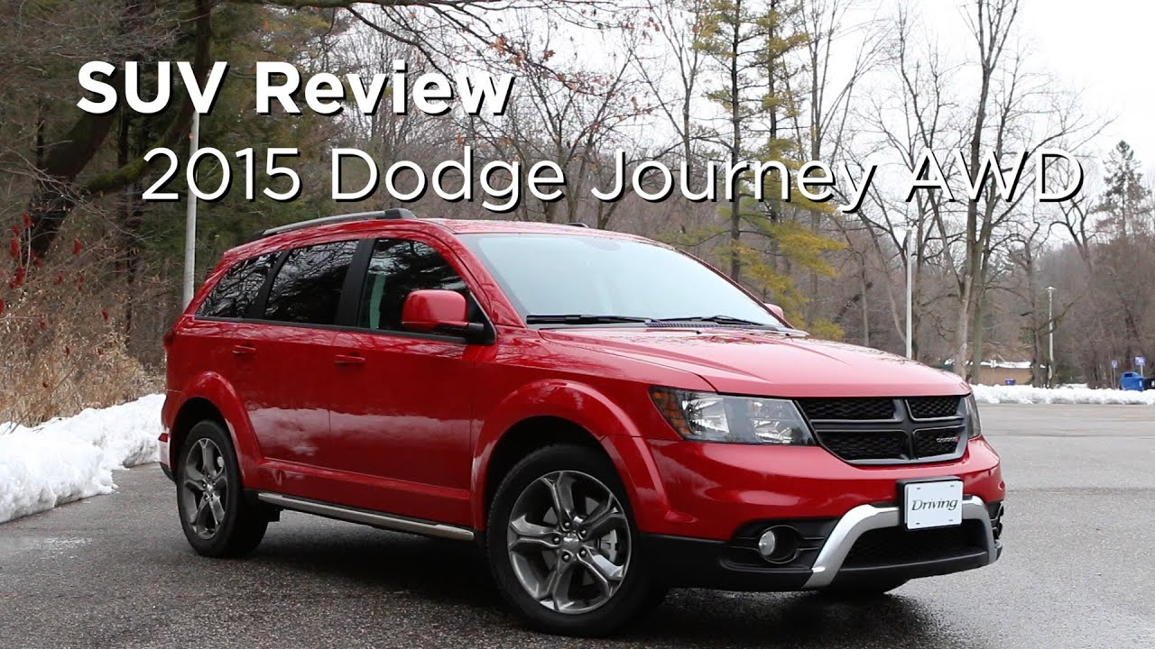 2015 Dodge Journey AWD  SUV Review  Drivingca  YouTube