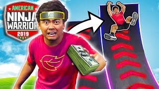 $10,000 Ninja Warrior Obstacle - Challenge