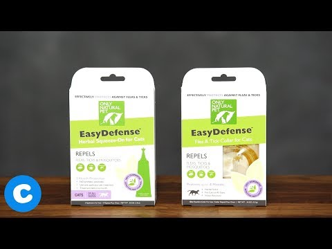 Only Natural Pet EasyDefense Flea And Tick Prevention For Cats
