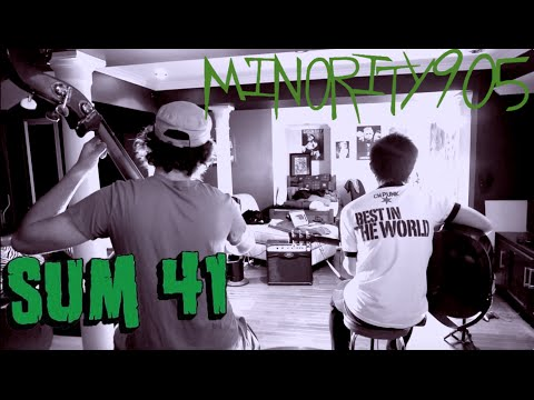 Sum 41 - Pieces (Minority 905 Cover)
