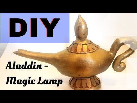How to make Aladdin's Lamp | Polymer Clay DIY