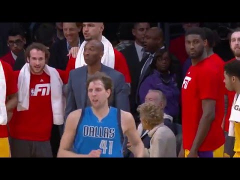 Dirk Nowitzki Hit A Game-Winner On The Lakers And Immediately Got Some DAP From Kobe