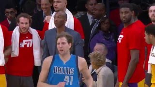 Kobe Shows Respect for Dirks Game Winner