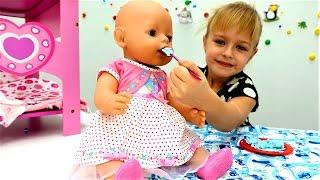 Беби Бон уход - Как мама - Мультики для девочек