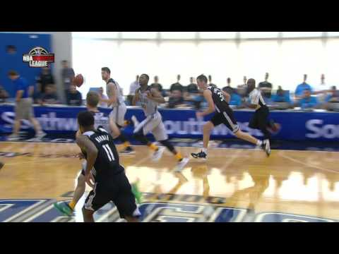 Joe Young Throws Down the Monster Slam in Summer League