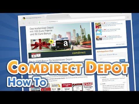 comdirect Depot: Wie mache ich einen Trade? [Anleitung, Tutorial] | DealDoktor