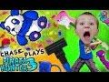 Chase Plays PINATA HUNTER 3!  Candy = Money (FGTEEV Panda Gameplay)