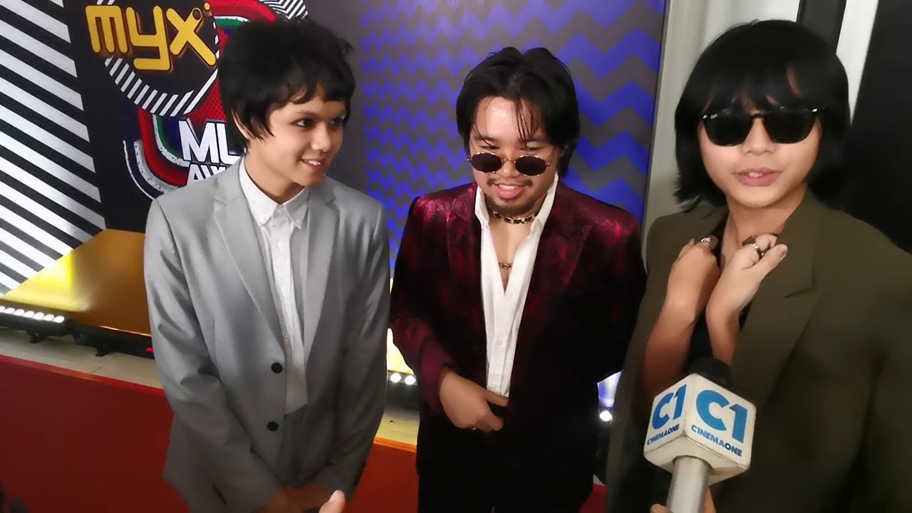 IV of Spades MYX Music Awards 2019 Red carpet interview
