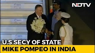 Pompeo Meets PM, S Jaishankar Today, Russia Arms Deal In Focus thumbnail